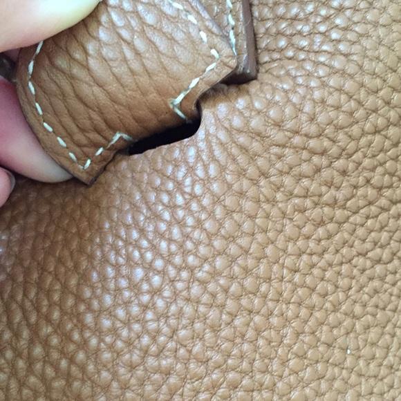 49% off Hermes Handbags - Hermes Evelyn Camel caramel crossbody ...