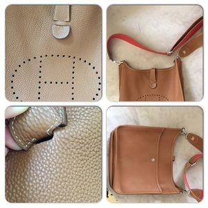 6b7f195004d Hermes Bags   Evelyn Camel Caramel Crossbody Bag Leather   Poshmark