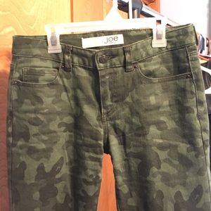 d3db6324b2215 Joe Fresh Pants | Camo Skinny Jeans | Poshmark