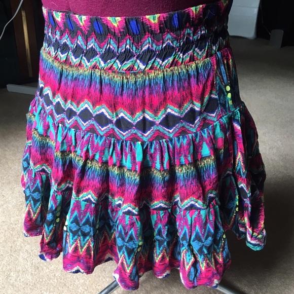 Rue21 Dresses & Skirts - 💗 Multi Colored Ruffle Skirt
