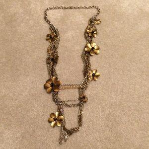 St. John Jewelry - St John Statement Multi Metal Necklace FINAL SALE