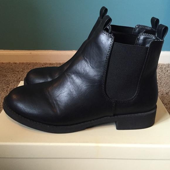 H\u0026M Shoes | Hm Divided Black Chelsea