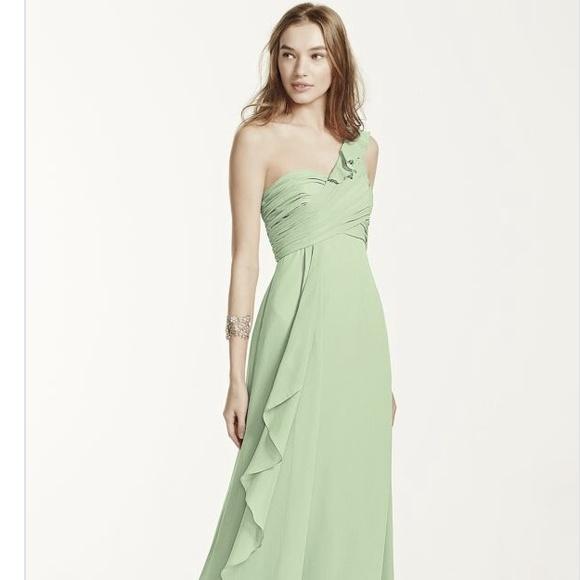 811159211b7 David s Bridal Dresses   Skirts - Meadow Chiffon Dress