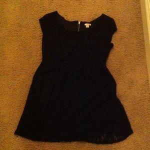 Lack floral lace dress