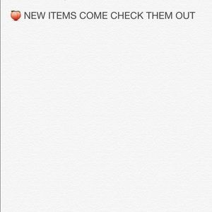 Other - New items please come check them out
