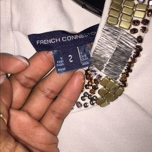 French Connection Dresses - French Connection White dress