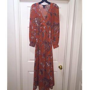 H&M Dresses - Floral Maxi dress