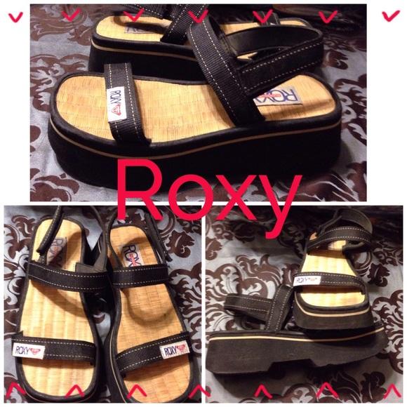1bd9fc879962 Roxy Shoes - ROXY SANDALS W ANKLE STRAPS   2 1 2