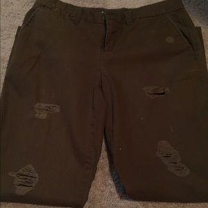 Gap broken in khakis