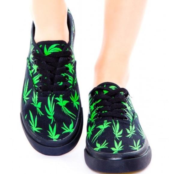 8baa5153a3 jordan shoes with marijuana print