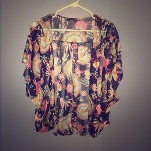 67 Off Yes Tops Sheer Kimono Dress From Hannah S Closet