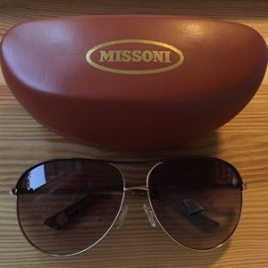 Missoni Aviator Sunglasses