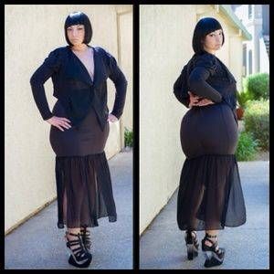 Plus size Sasha Skirt