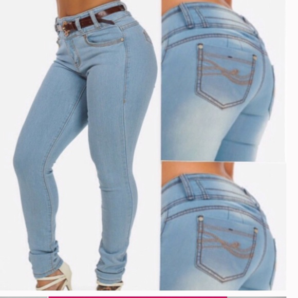 69% off Jeans Pants - colombian butt lifting jeans plus size 7 USA ...