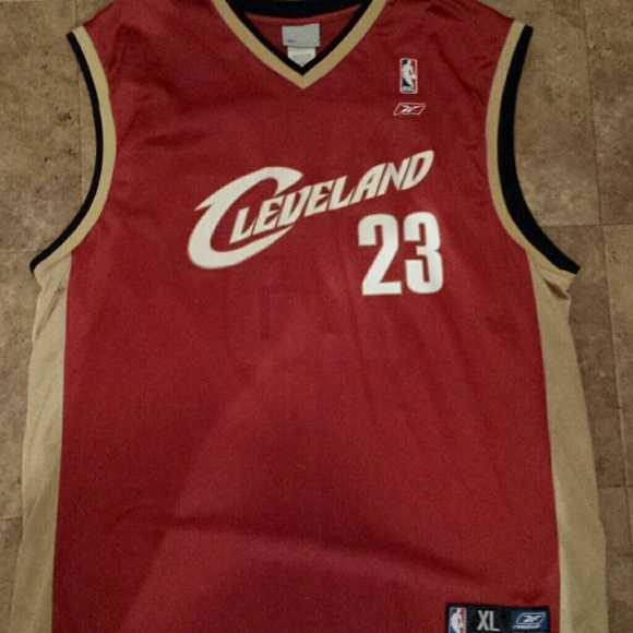 best sneakers 08124 8fb3a Mens Lebron James Cleveland Cavaliers Jersey #23