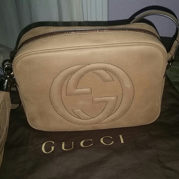 3738a1009327 Gucci Handbags - Gucci bag soho nubuck disco bag