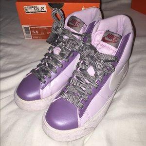 Nike Stussy purple blazers
