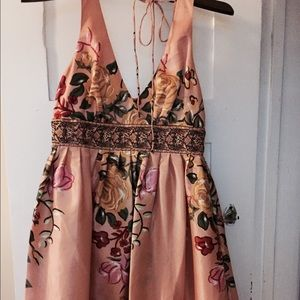 Other Dresses & Skirts - Peachy Aline Dress with Beading