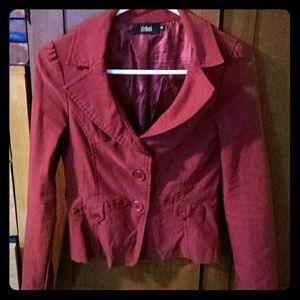 Jackets & Blazers - Maroon Blazer sz S