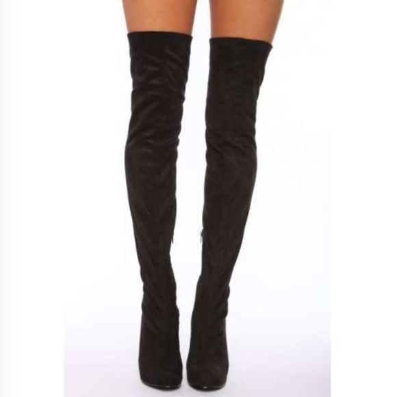 Jeffrey Campbell - Jeffrey Campbell thigh high boot size 7 from ...