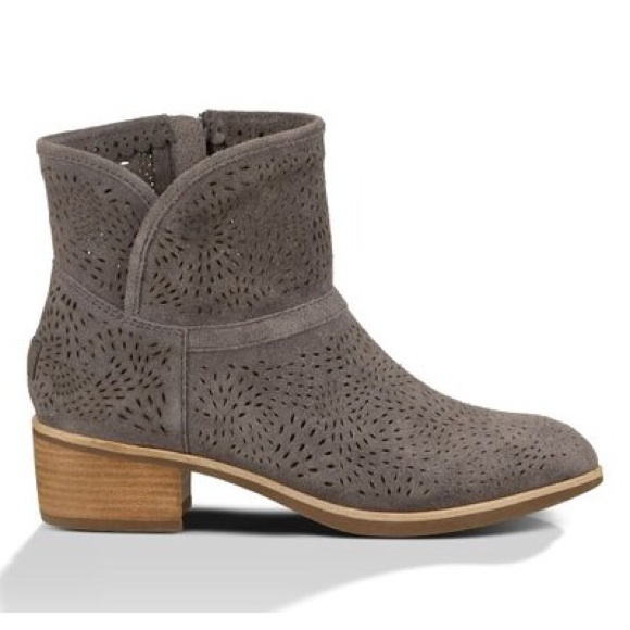 Darling Shoes Perf Boots Poshmark Seaweed Ugg Fq8Yf8