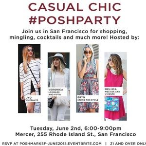 SF, you're invited to a LIVE Posh Party!