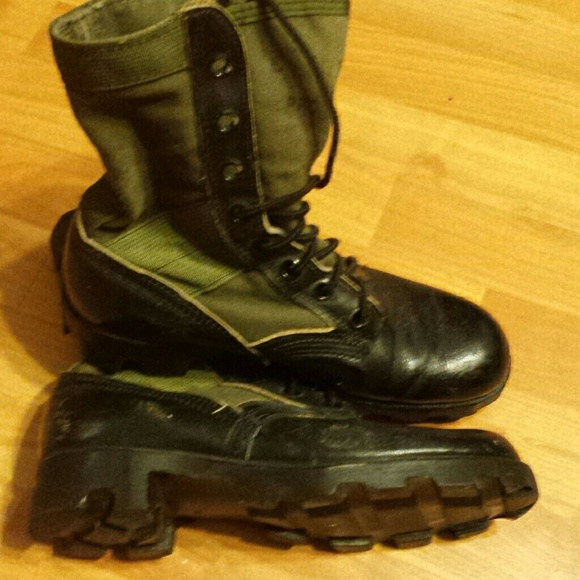 combat jungle boots mens size 6 mens 6 womens 8 from