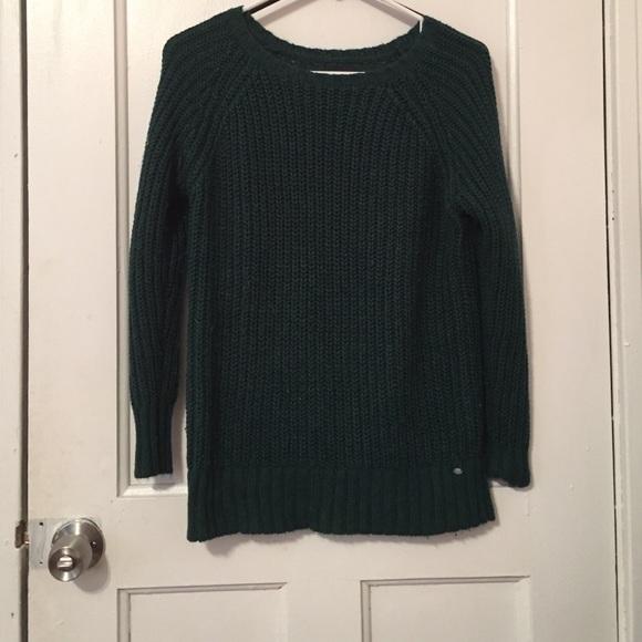 American eagle dark green sweater !