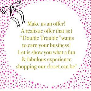 Make us an offer!