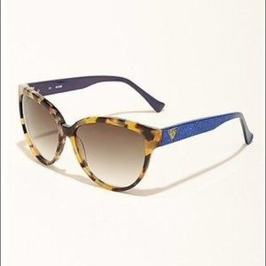 Guess tortoise 30th anniversary cateye sunglasses