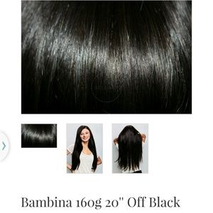 Hold! BELLAMI human hair extensions! 20 inch