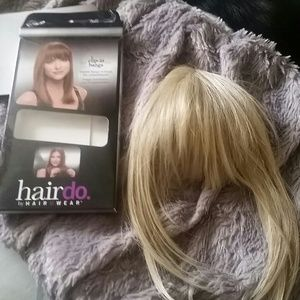 Hair Do by Jessica Simpson, clip in bangs