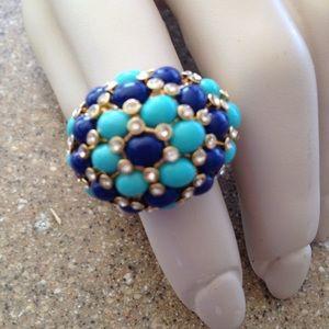 Stella & Dot Jewelry - Stella & Dot blue ring SALE today