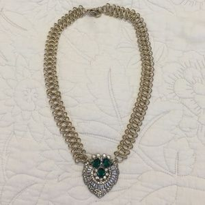 Lulu Frost for J.Crew Emerald Necklace