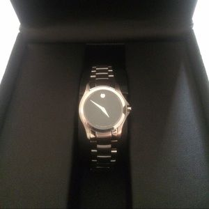 Movado 0606383 Serio Stainless Steel Ladies Watch
