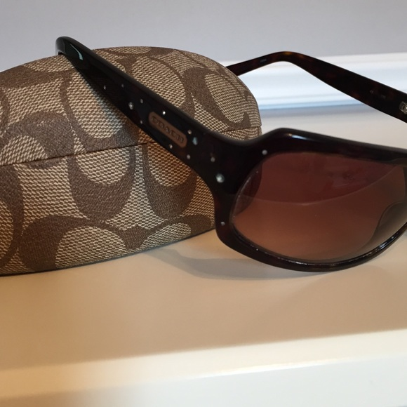 2c7d03e4ca89 Coach Accessories | Tortoise Brown Samantha Sunglasses S425 | Poshmark