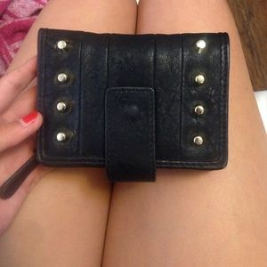 black stud wallet!