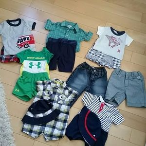 Lot of baby boy clothes