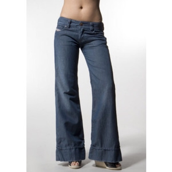 90% off Diesel Denim - Diesel Pacee wide leg jeans from Amy's ...