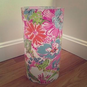 Lilly Pulitzer For Target Glass Candle Holder