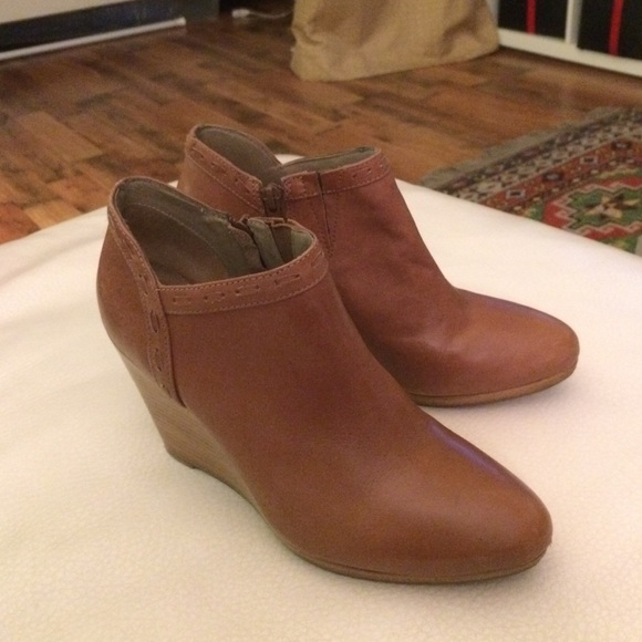 e7d62dd971f Jack Rogers Boots - Jack Rogers Wedge Booties