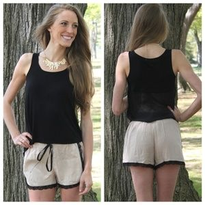 Other - Dianne Lace Trim Shorts