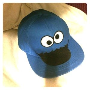 Cookie Monster Snapback Hat