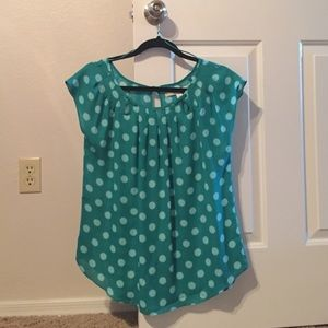 LC by Lauren Conrad blouse, size M