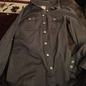 J. Crew the perfect shirt, light blue size 2.