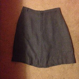 Gray high waisted skirt from banana republic.