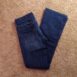 GAP mid rise Boot cut jeans