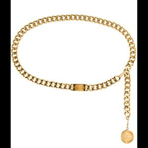 Chanel Vintage Gold Chain Belt!