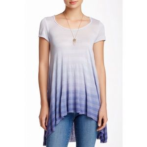 Blue Ombré Top / Tee