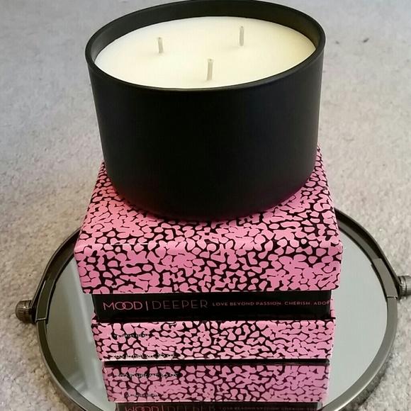 3c1d163e49ed1 Victorias Secret candle. Mood/Deeper 10 oz 3 wick. NWT